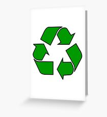 Recycle sign | Globetrotter Greeting Card