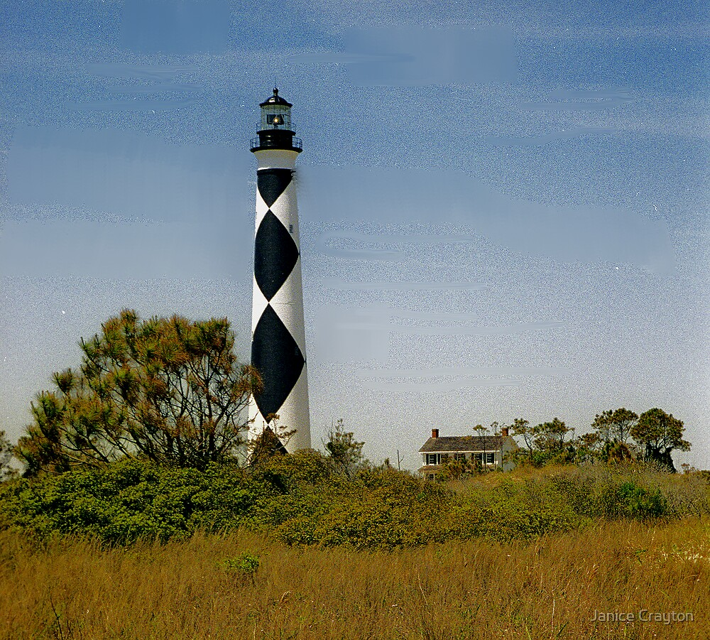 Cape Lookout NC by Janice Crayton