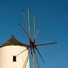 Oia Windmill, Santorini, Greece by Petr Svarc