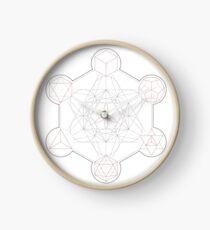 Metatron's Cube Clock