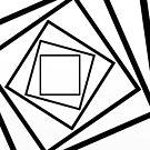Hypnotic Black And White by Printpix