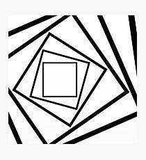 Hypnotic Black And White Photographic Print