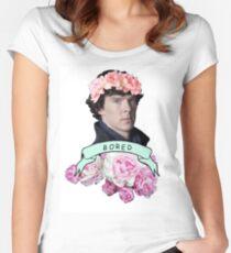 ♥ Sherlock ♥ Women's Fitted Scoop T-Shirt