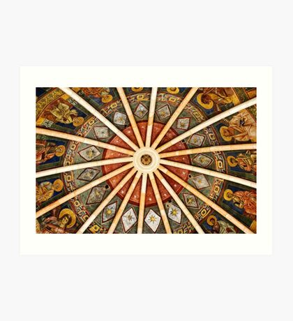 Baptistery of Parma - Ceiling detail Art Print