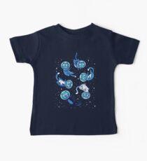 Galaxie Katzen Baby T-Shirt