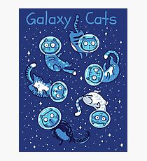 Galaxy cats Photographic Print