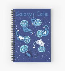 Galaxy cats Spiral Notebook