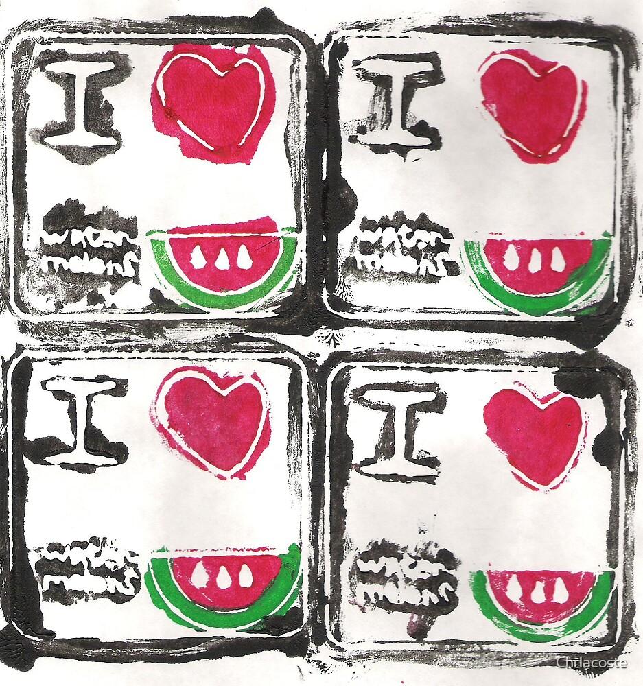 """Watermelon"" by Chrlacoste"