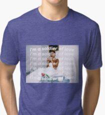 SOLDIER OF LOVE Tri-blend T-Shirt
