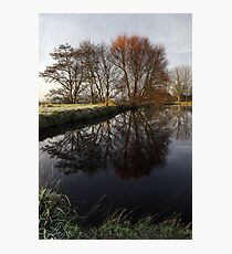 A Country Pond Photographic Print