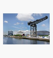 Side view of the main Clydeside, Glasgow, Scotland Photographic Print