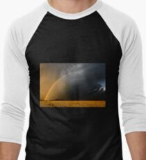 Storm Over Canolla Field  Men's Baseball ¾ T-Shirt