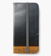 Storm Over Canolla Field  iPhone Wallet/Case/Skin
