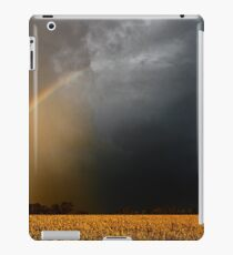 Storm Over Canolla Field  iPad Case/Skin