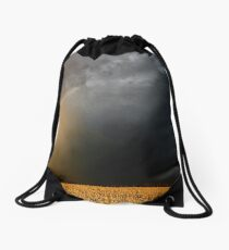 Storm Over Canolla Field  Drawstring Bag