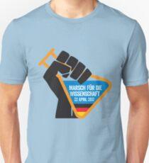 Marsch für die Wissenschaft Unisex T-Shirt