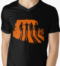 A Clockwork Orange T-Shirt mit V-Ausschnitt