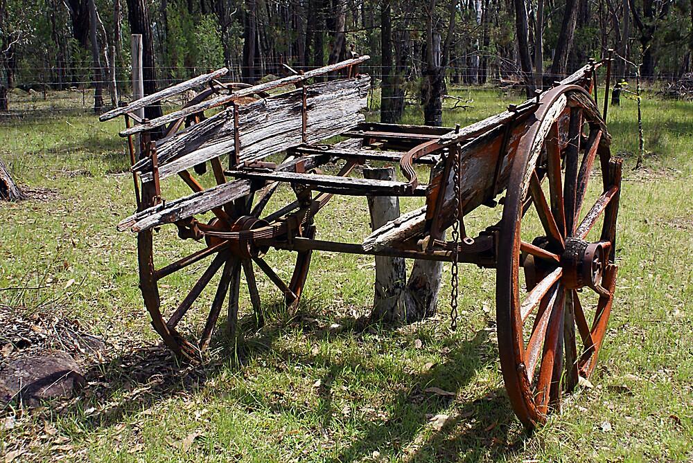 Old Cart by Steve Broadley