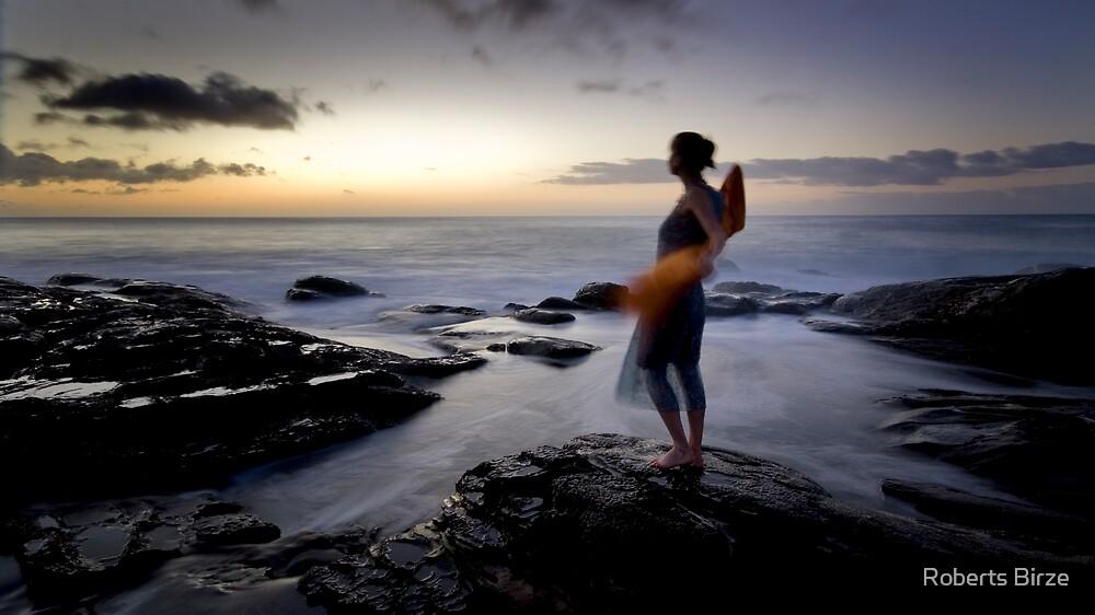 lever de soleil ii: San by Roberts Birze