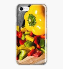 Colorful Peppers iPhone Case/Skin