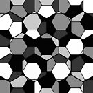 Retro Rocks - 50 Shades Of Grey by Printpix