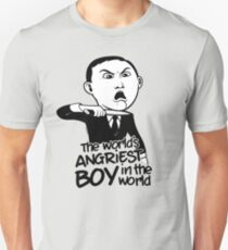 Angriest Boy in the World Unisex T-Shirt
