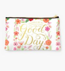 Gonna Be a Good Day Floral Studio Pouch