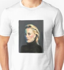 Gillian Anderson Painting (clothing, stickers) Unisex T-Shirt