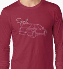 MazdaSpeed 3 Outline - Speed Artwork T-Shirt