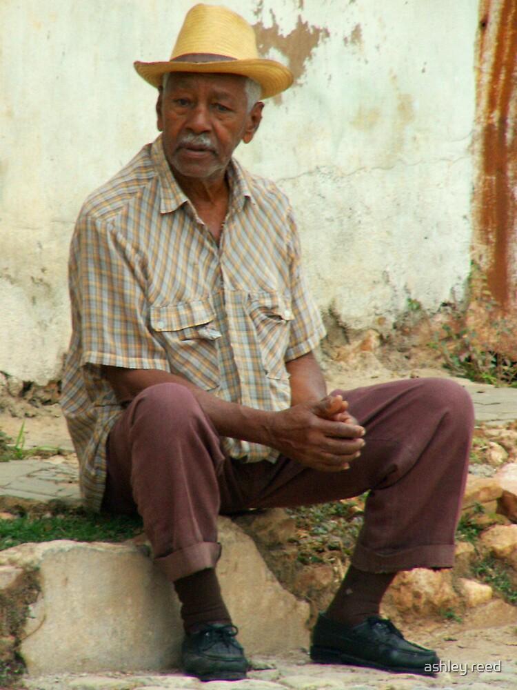 cuban man by ashley reed