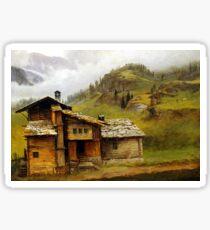 Albert Bierstadt Mountain House Sticker