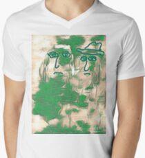 Jigs & Reels Mens V-Neck T-Shirt