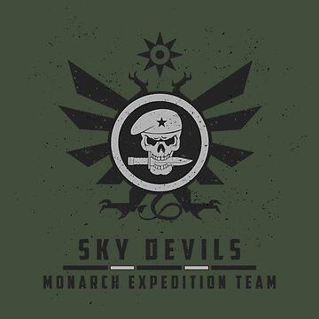 sky devils by halfabubble