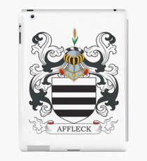 Affleck Coat of Arms iPad Case/Skin