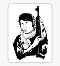 Leila Khaled Sticker