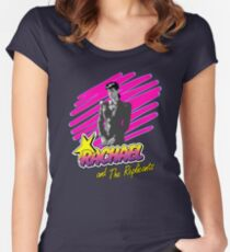 BLADE RUNNER - RACHAEL AND THE REPLICANTS (PINK) Women's Fitted Scoop T-Shirt