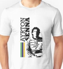 Ayrton Senna Brazil - W Unisex T-Shirt