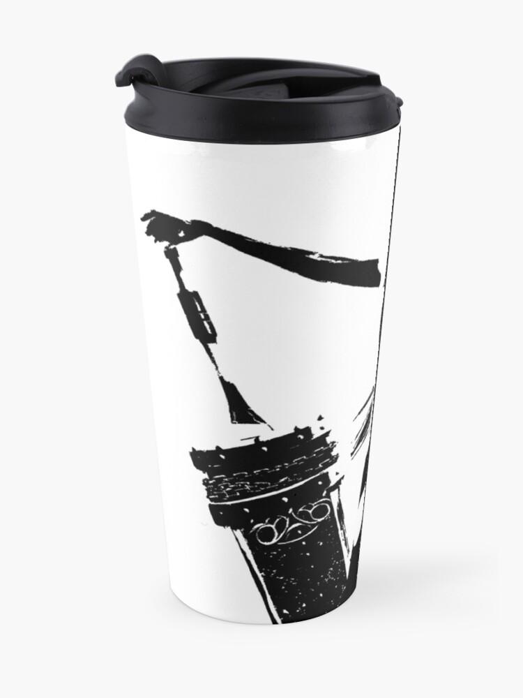 Alternate view of Weathered A2 Nier Automata Close Up Travel Mug