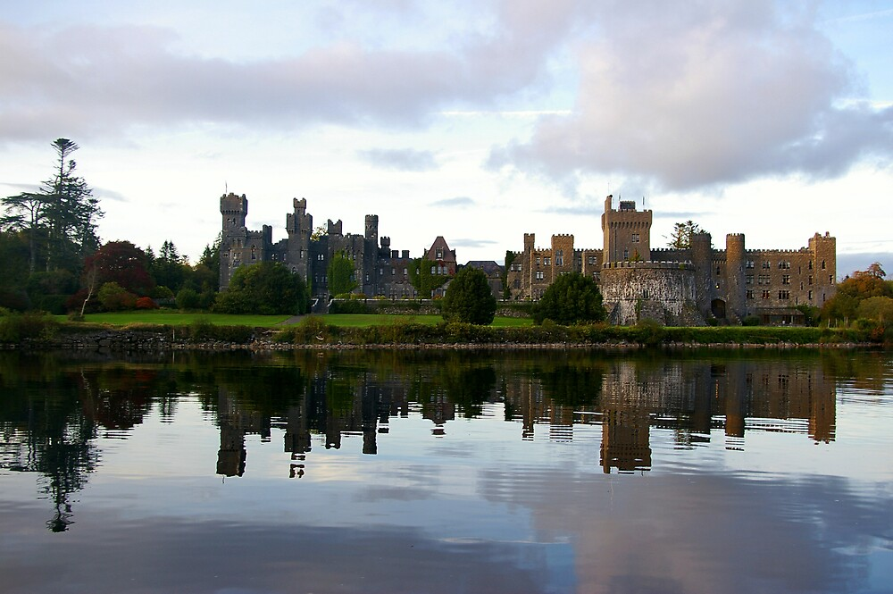 ASHFORD CASTLE ON AN OCTOBER EVENING by serenity