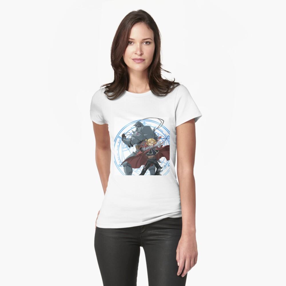 Fullmetal Alchemistenbruderschaft Tailliertes T-Shirt