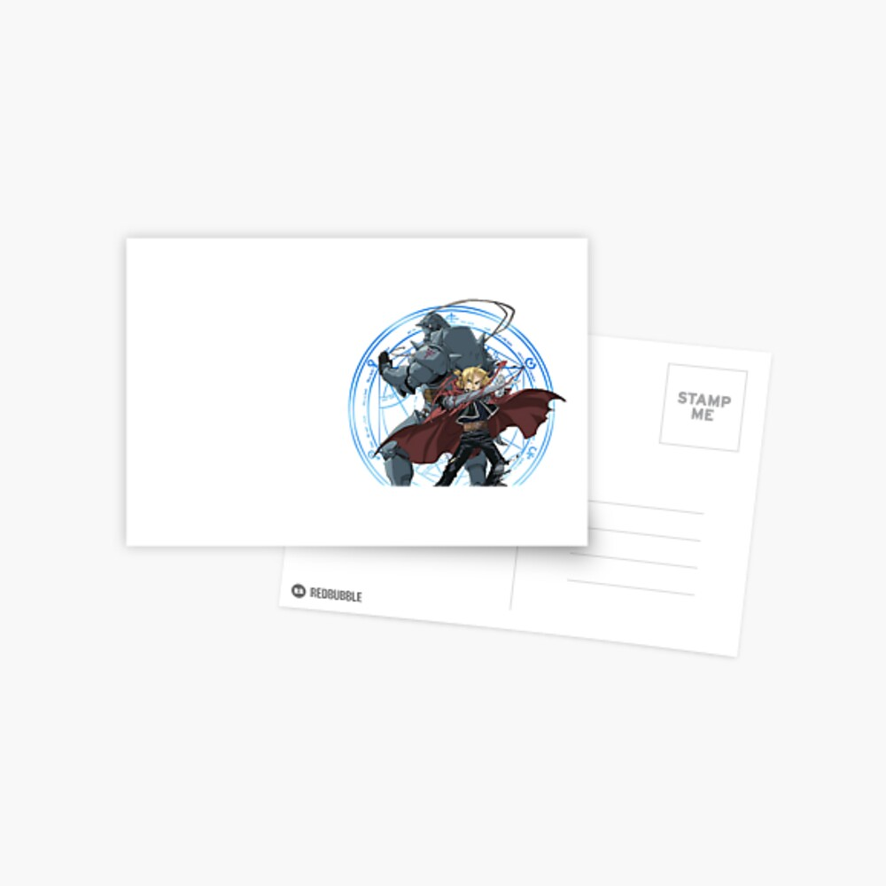 Fullmetal Alchemistenbruderschaft Postkarte