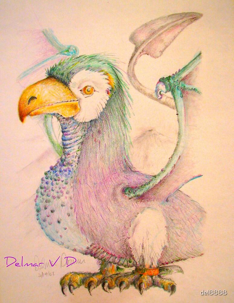 Fighting Chickasaurus by del8888