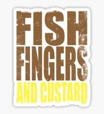 Fish Fingers and Custard Sticker