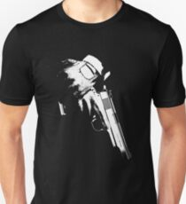 Weathered Hitman Pistol T-Shirt