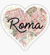 I heart Rome Sticker