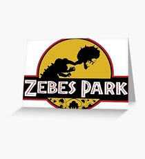 Zebes Park Greeting Card