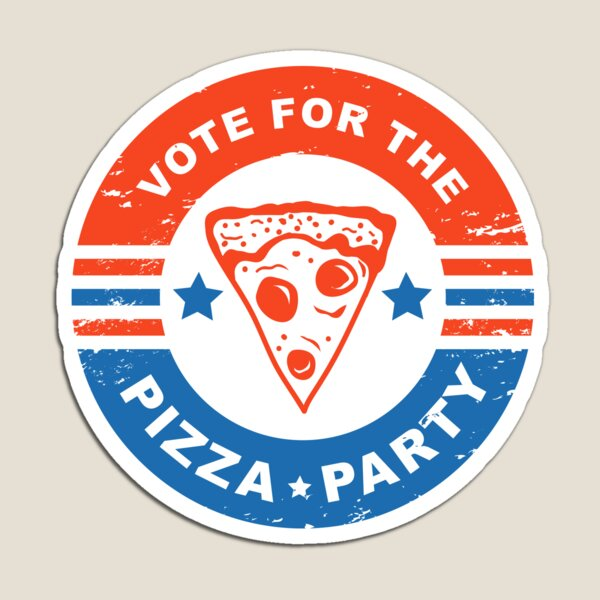 Vote for the Pizza Party Magnet
