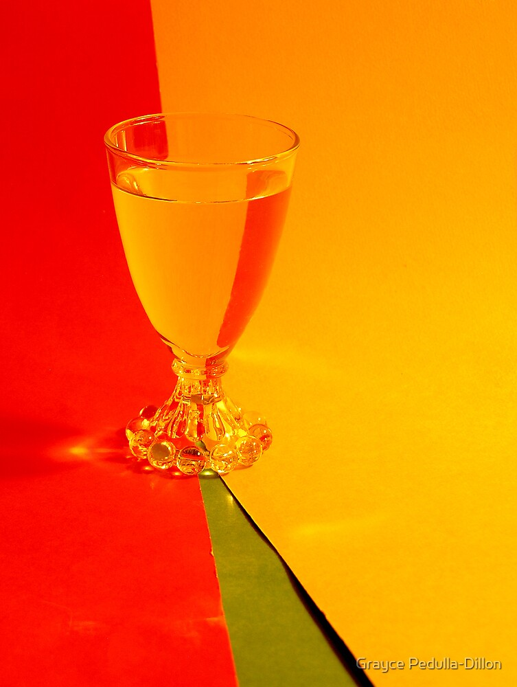 Yellow and Red Refraction by Grayce Pedulla-Dillon