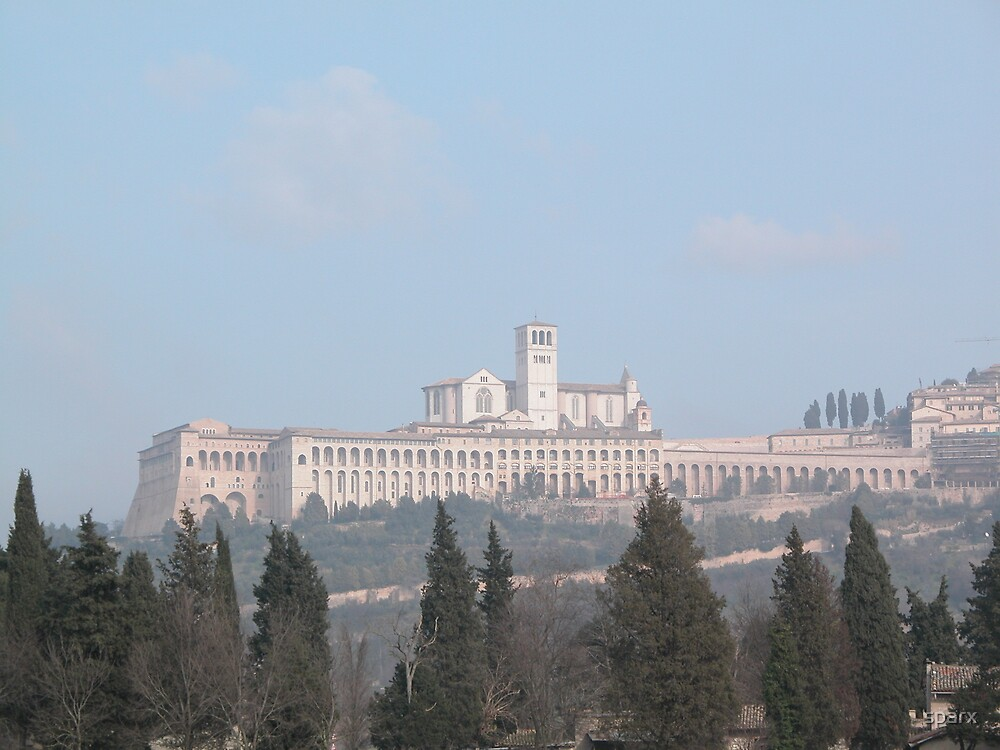 The Assisi Church by sparx