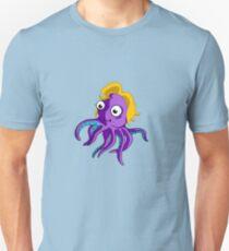 Cute Blond Octopus Unisex T-Shirt